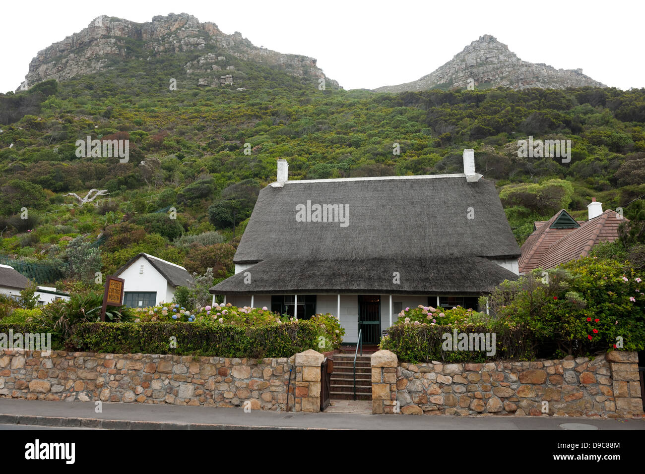 Rhodes' Cottage Museum, Muizenberg, False Bay, South Africa - Stock Image