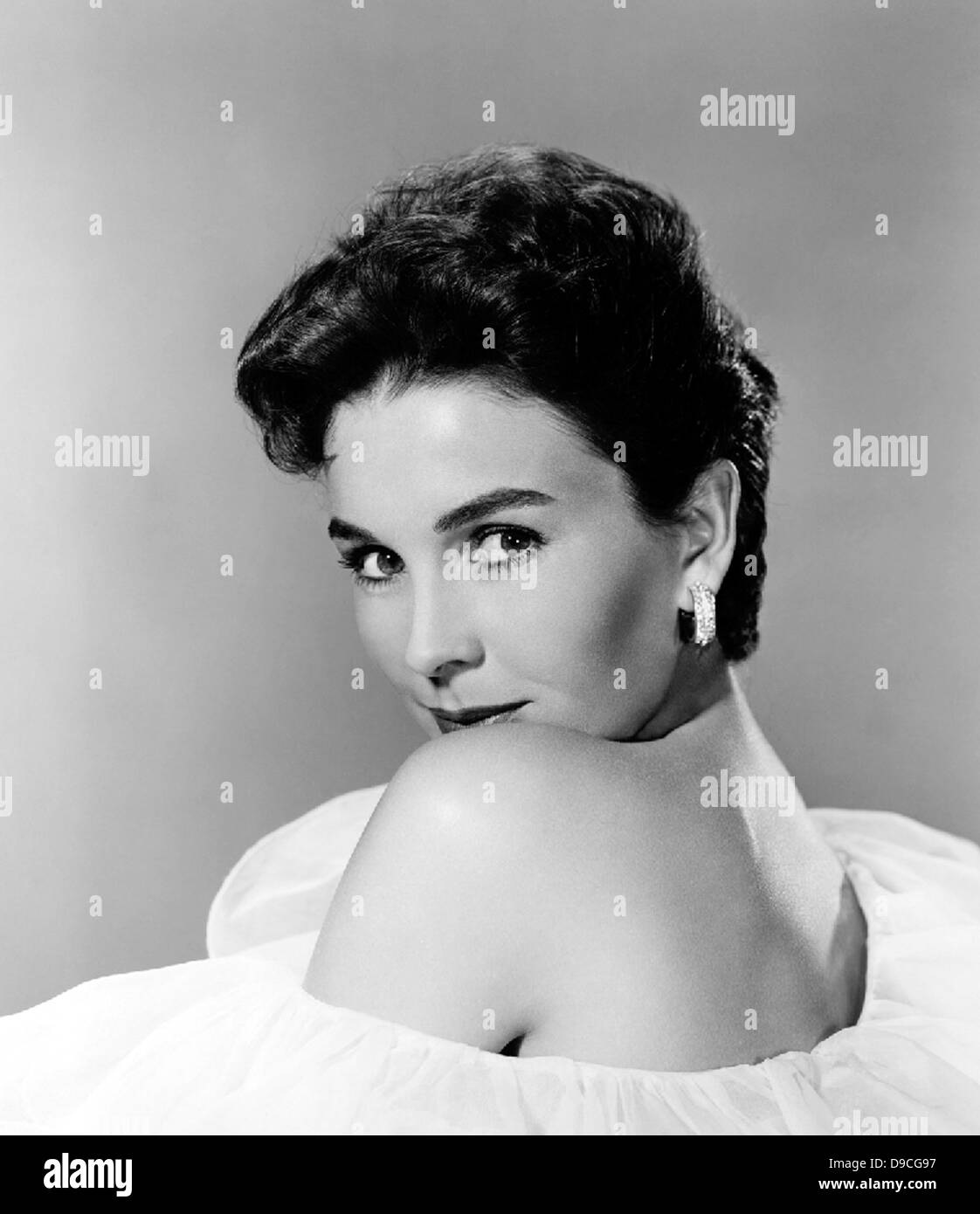 JEAN SIMMONS (1929-2010) Anglo-American film actress in 1956 - Stock Image