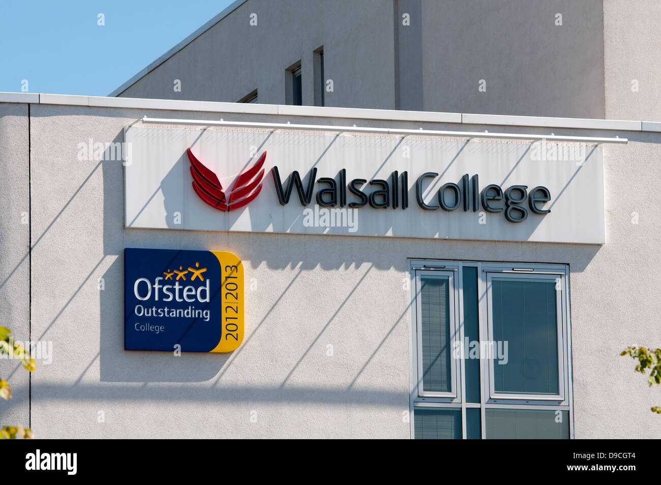 Walsall College, West Midlands, England, UK - Stock Image
