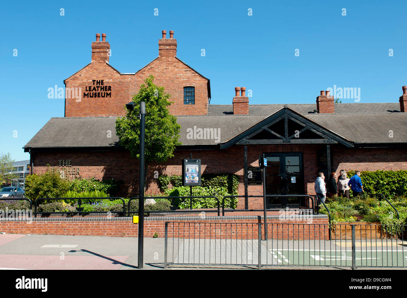 The Leather Museum, Walsall, West Midlands, England, UK - Stock Image