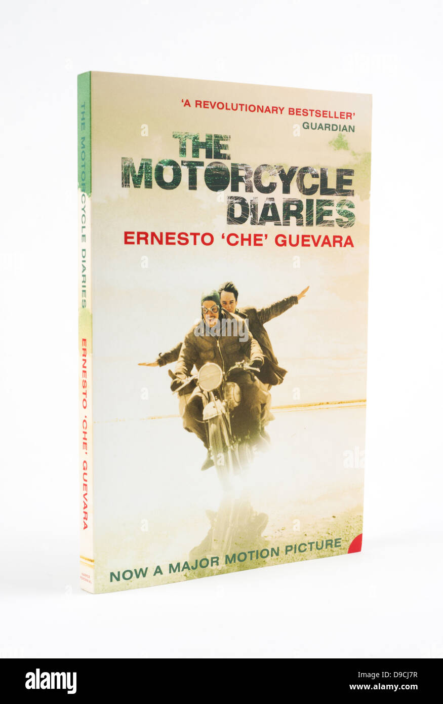 The Motorcycle Diaries is a memoir by Ernesto 'Che' Guevara of his early travels - Stock Image