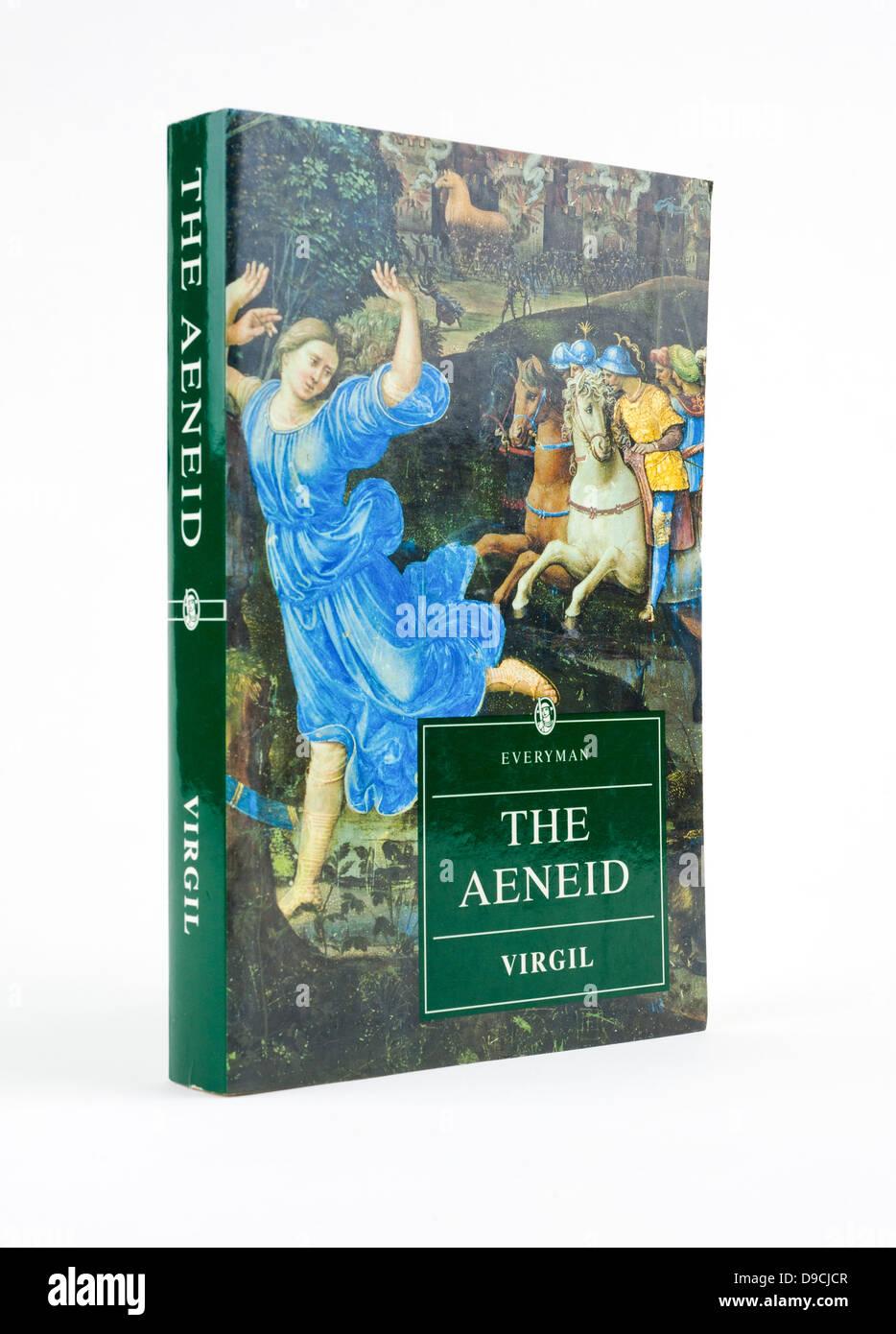 'The Aeneid', a Latin epic poem by Virgil (Publius Vergilius Maro) - Stock Image