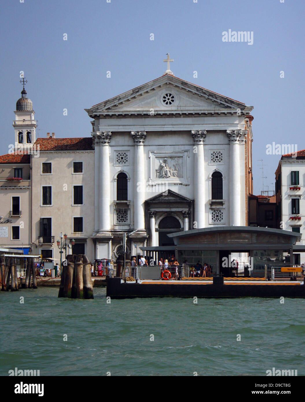 The church of Santa Maria della Pietα or della Visitazione was built from 1745-1760. Historically, it is remembered - Stock Image