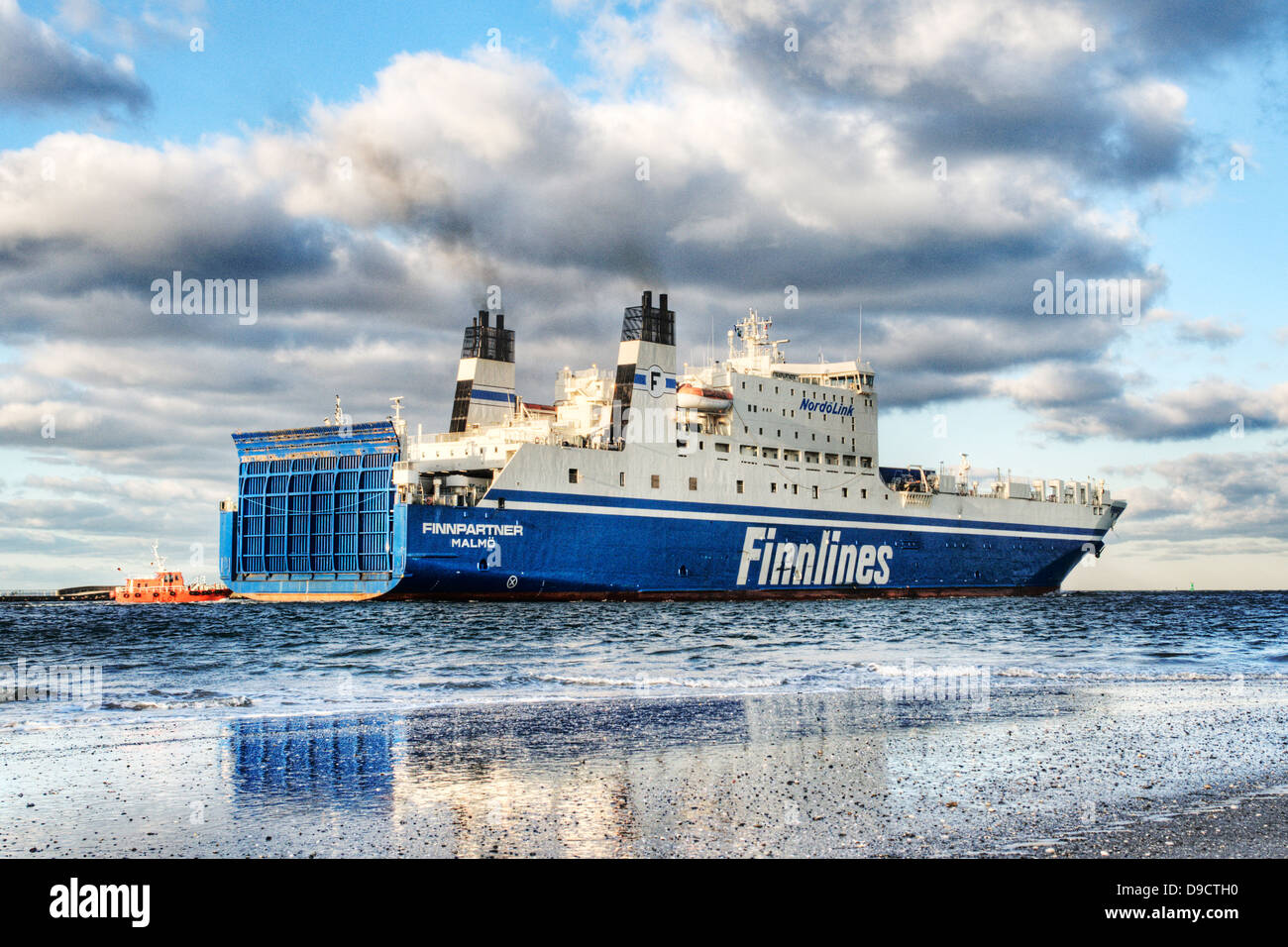 Ferry of the Finnlines - Stock Image