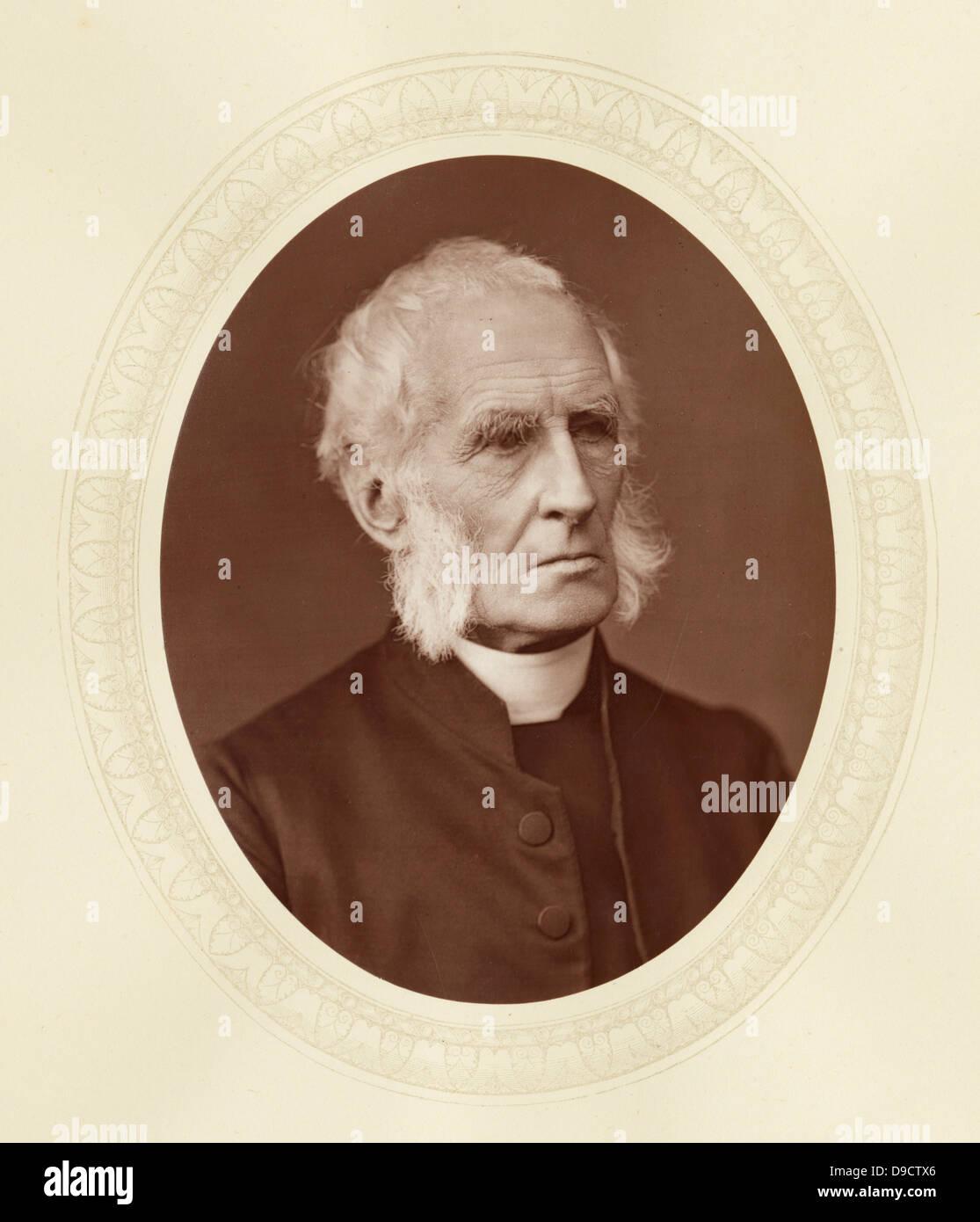 Alfred Ollivant (1798-1882) c1878, English churchman who was Bishop of Llandaff 1842-188. - Stock Image