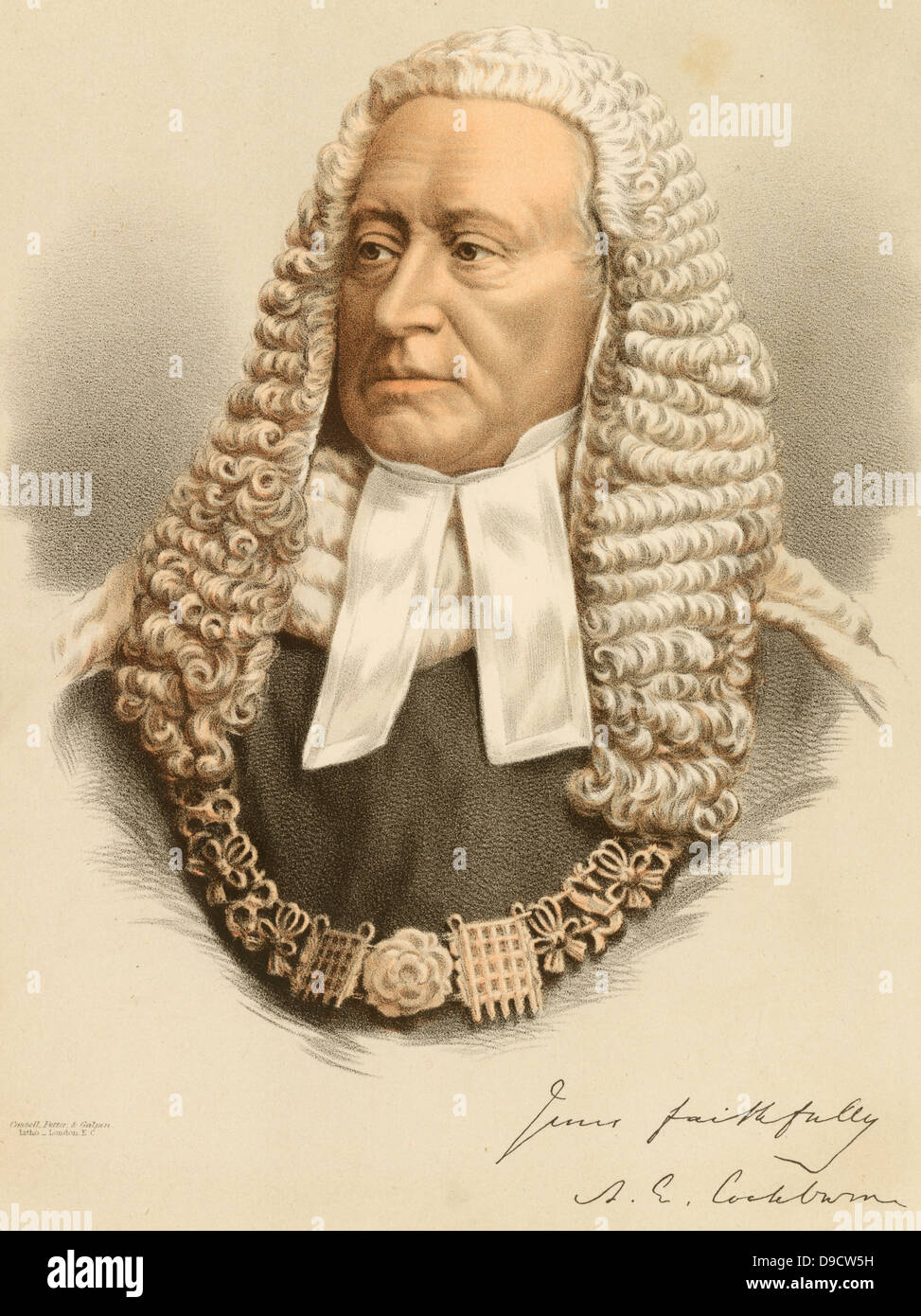 Wig BarristerStock Photos and Images