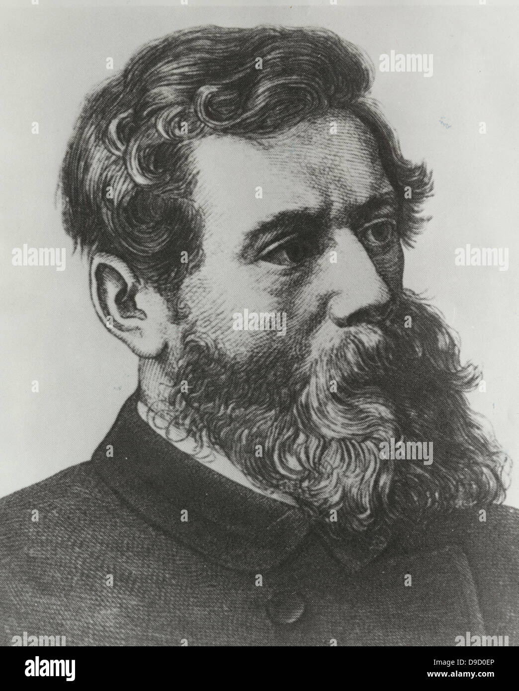 Ludwig Andreas von Feuerbach (1804-1872) German philosopher and anthropologist. - Stock Image