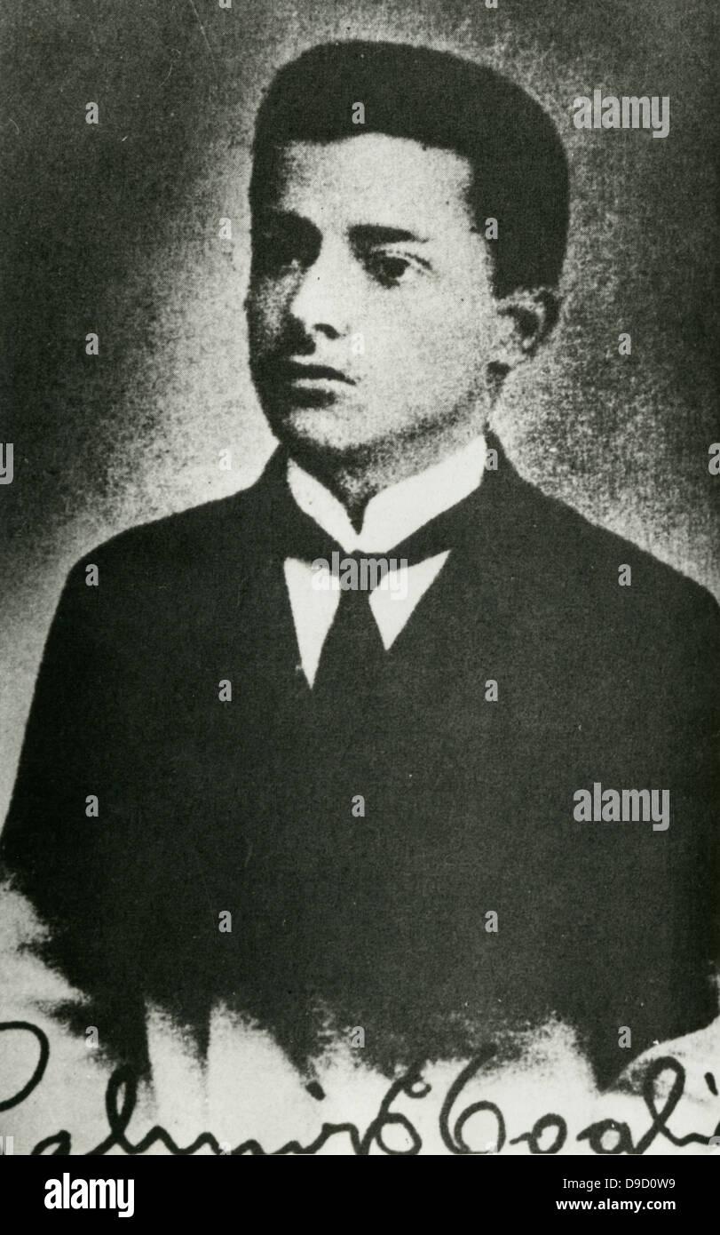 Palmiro Togliatti (1893-1964)  Italian politician and leader of the Italian Communist Party from 1927 until his - Stock Image