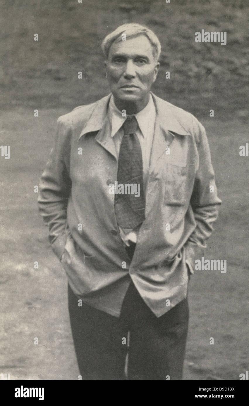 Boris Leonidovich Pasternak (1890-1960) Russian poet, novelist and tranlator of Shakespeare. - Stock Image