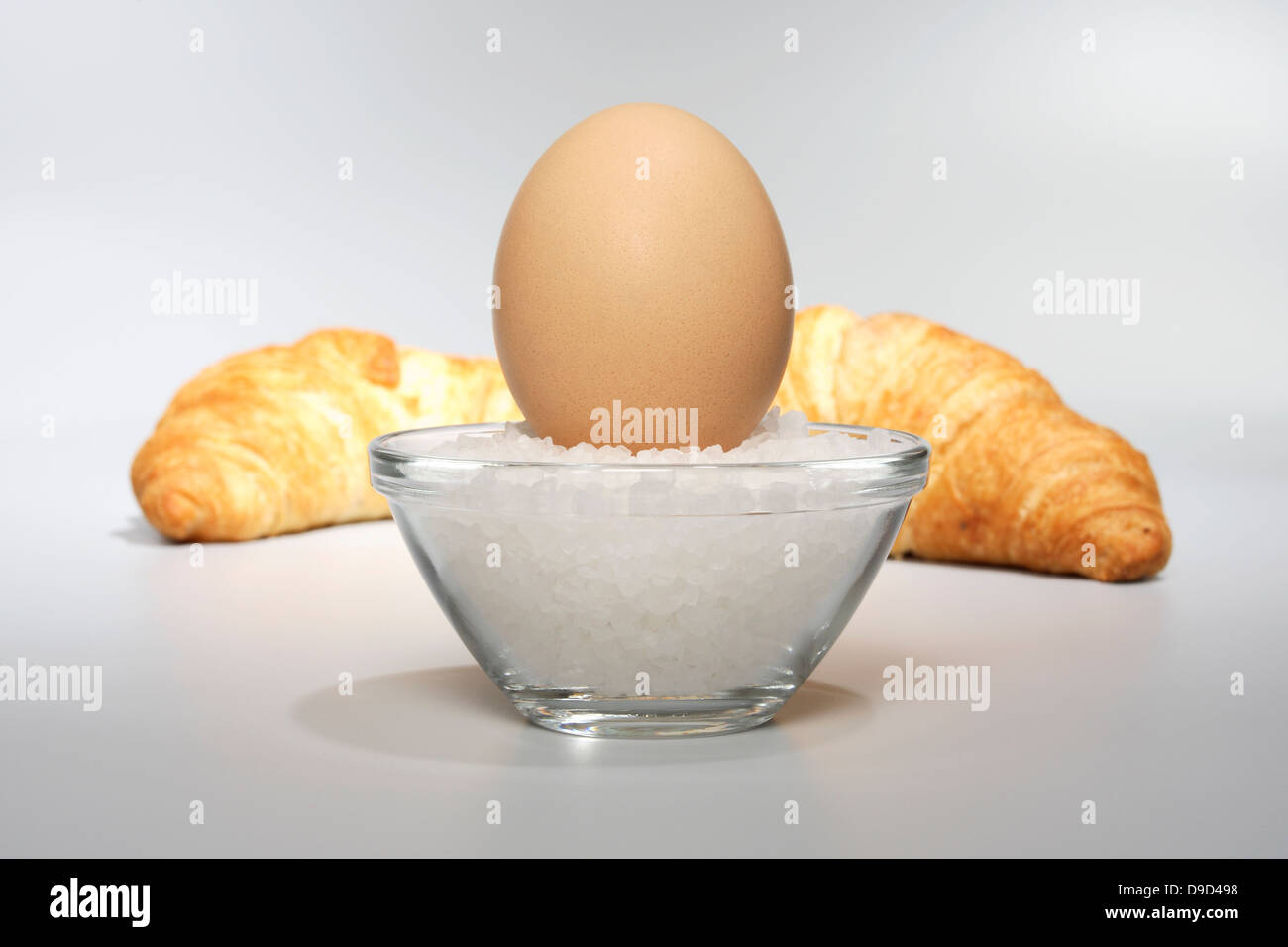 Oh with croissants - Stock Image
