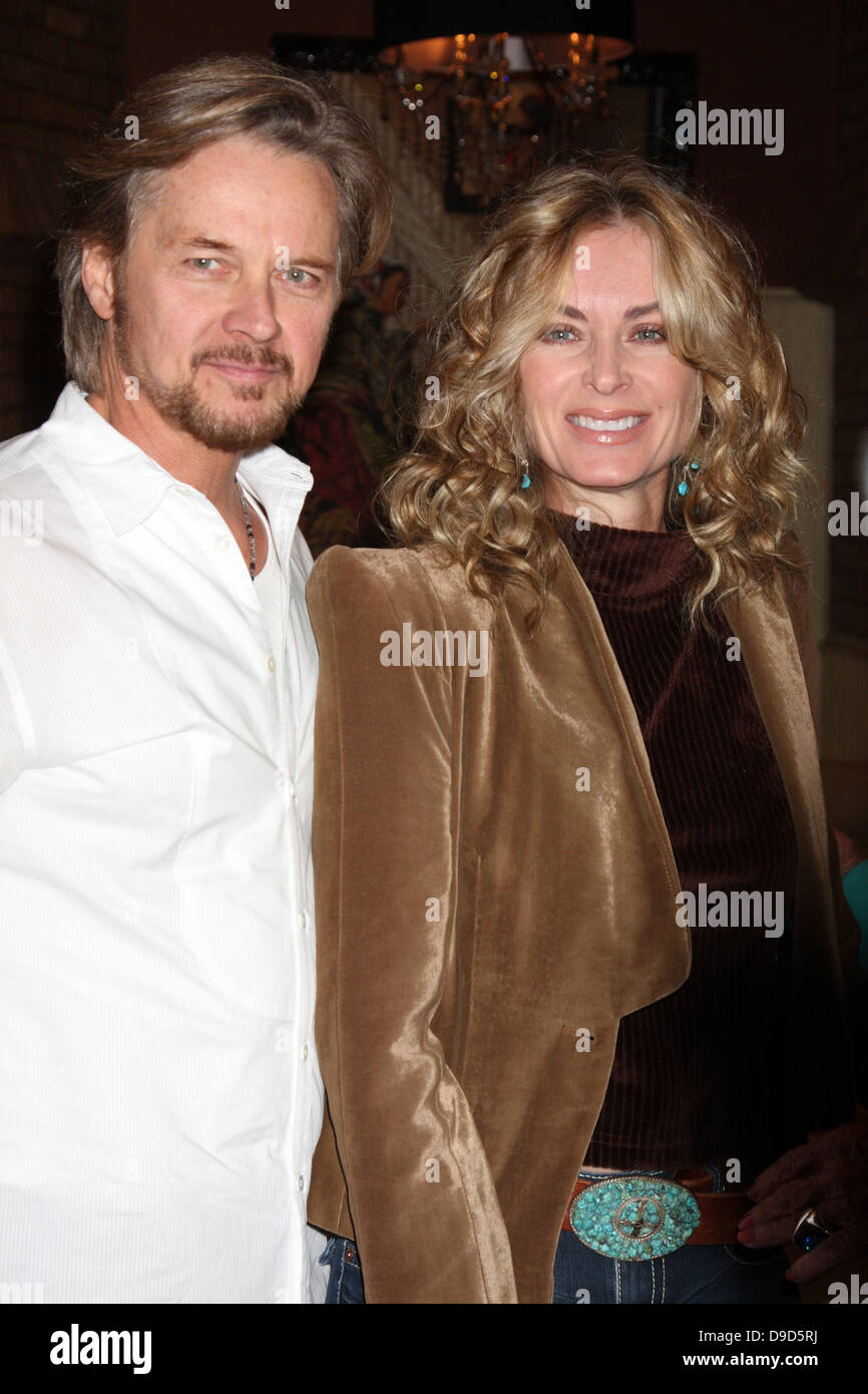 Stephen Nichols And Eileen Davidson The Young Restless 38th Stock Photo Alamy