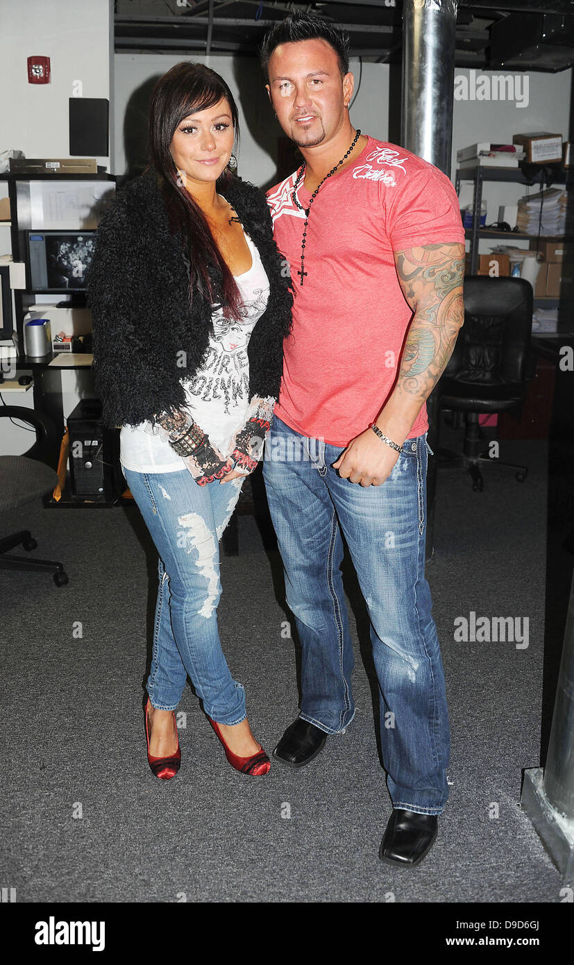 Jenny 'Jwoww' Farley from Jersey Shore and Roger Matthews ...