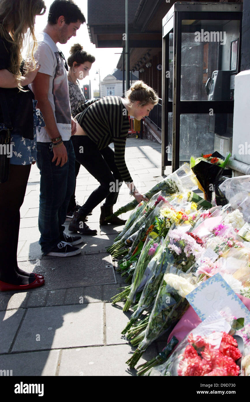 Friends and family lay floral tributes at the entrance of the suju friends and family lay floral tributes at the entrance of the suju nightclub in swindon old town wiltshire on march 25 2011 suju nightclub was the last izmirmasajfo