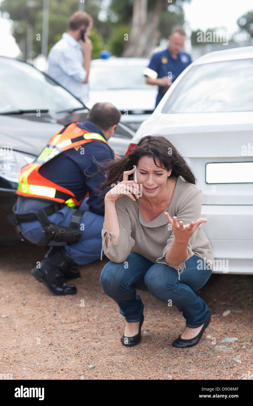Hollyoaks Car Crash