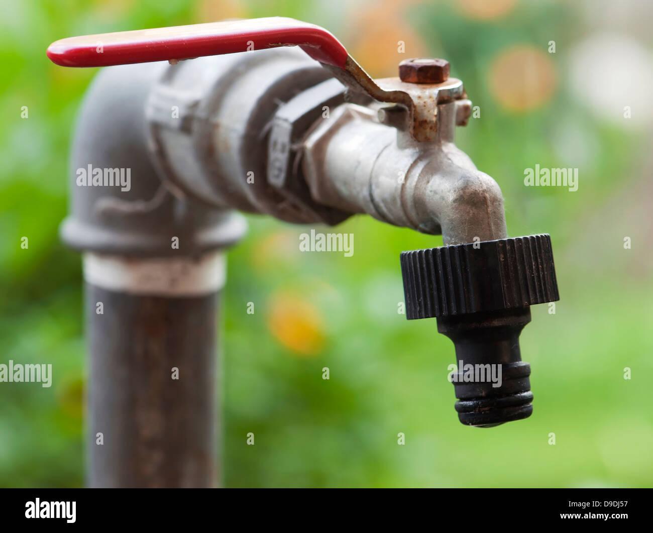 Garden Faucet Stock Photos Garden Faucet Stock Images Alamy