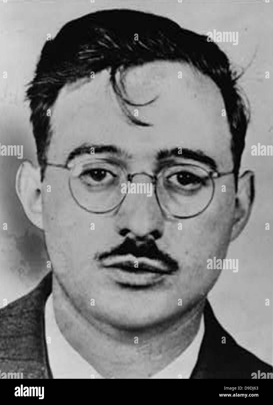 Julius Rosenberg convicted of conspiracy to commit espionage during a time of war, and executed. - Stock Image