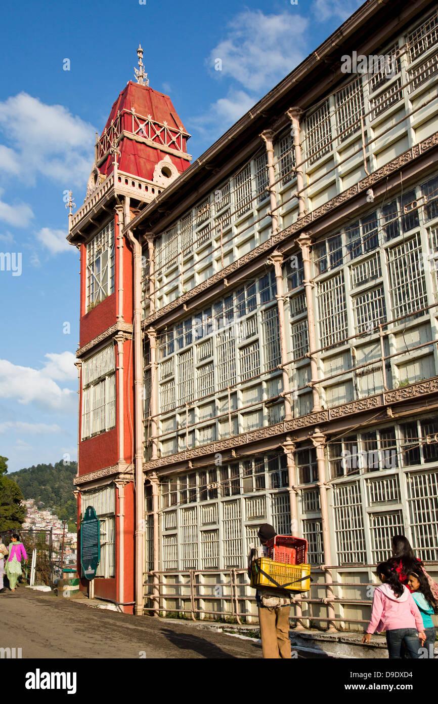 Railway Board Building in Shimla, Himachal Pradesh, India - Stock Image