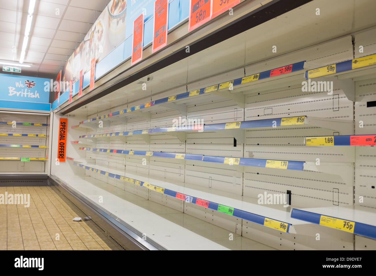 Fantastic Empty Shelves Supermarket Stock Photos Empty Shelves Home Remodeling Inspirations Genioncuboardxyz