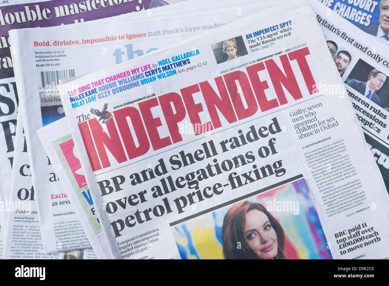 Uk independent newspaper owner