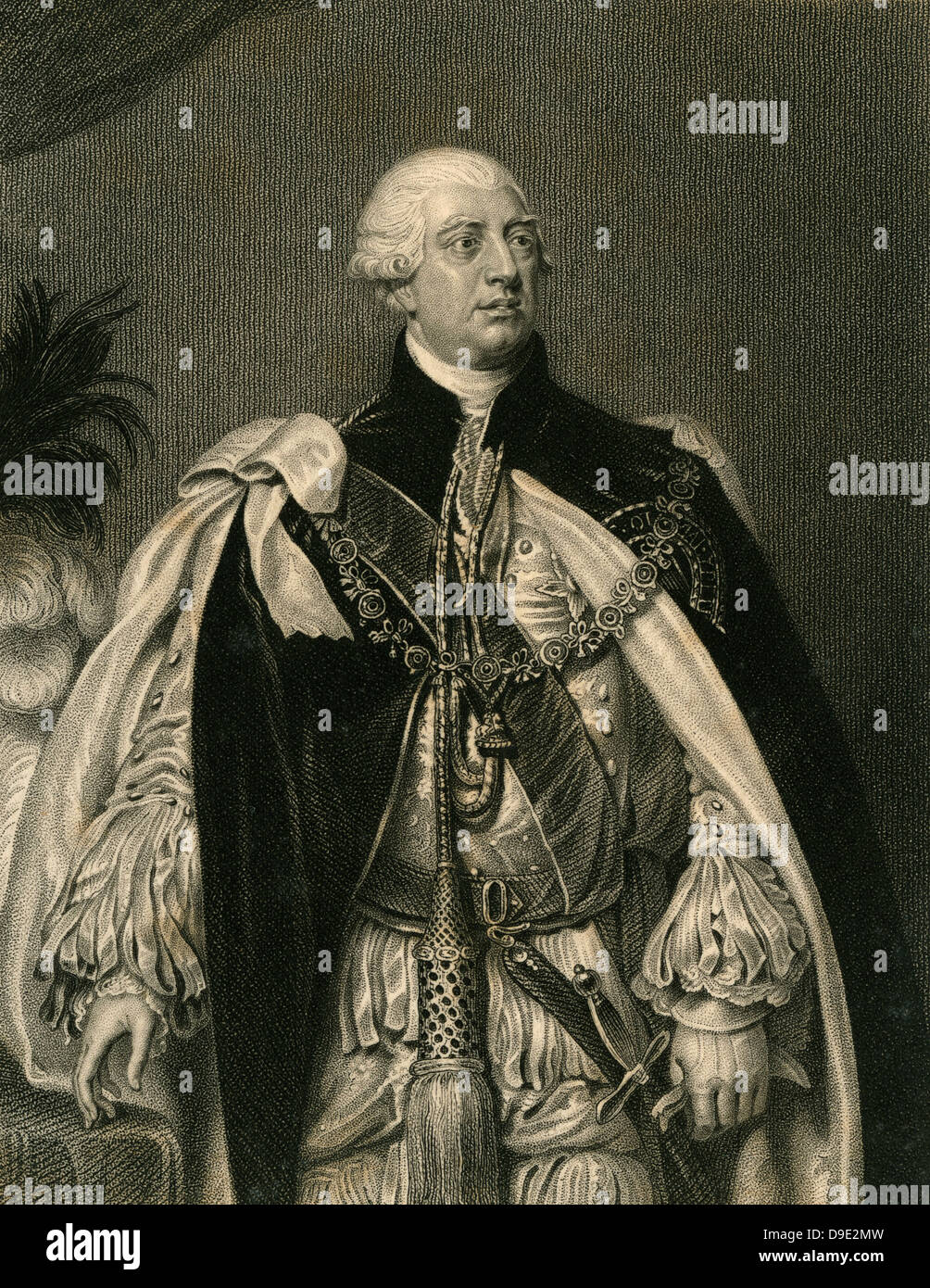 Archibald Campbell (c1607-1661) 8th Earl of Argyll, Scottish nobleman. - Stock Image