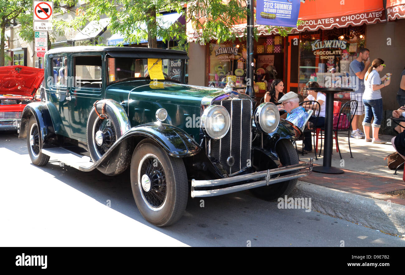 1919 Franklin Air Cooled at the Rolling Sculpture car show July 13, 2012 in Ann Arbor, Michigan - Stock Image