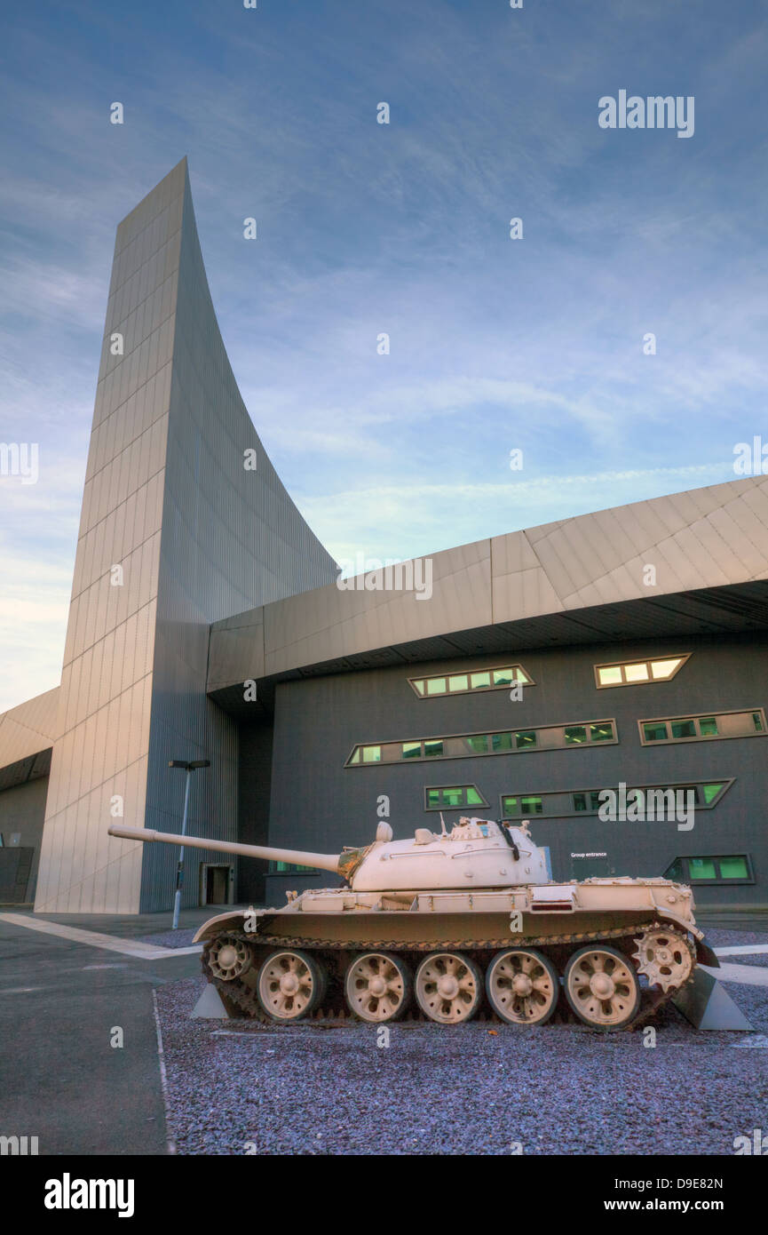 Impeial War Museum at Salford Quays, Manchester, England. - Stock Image