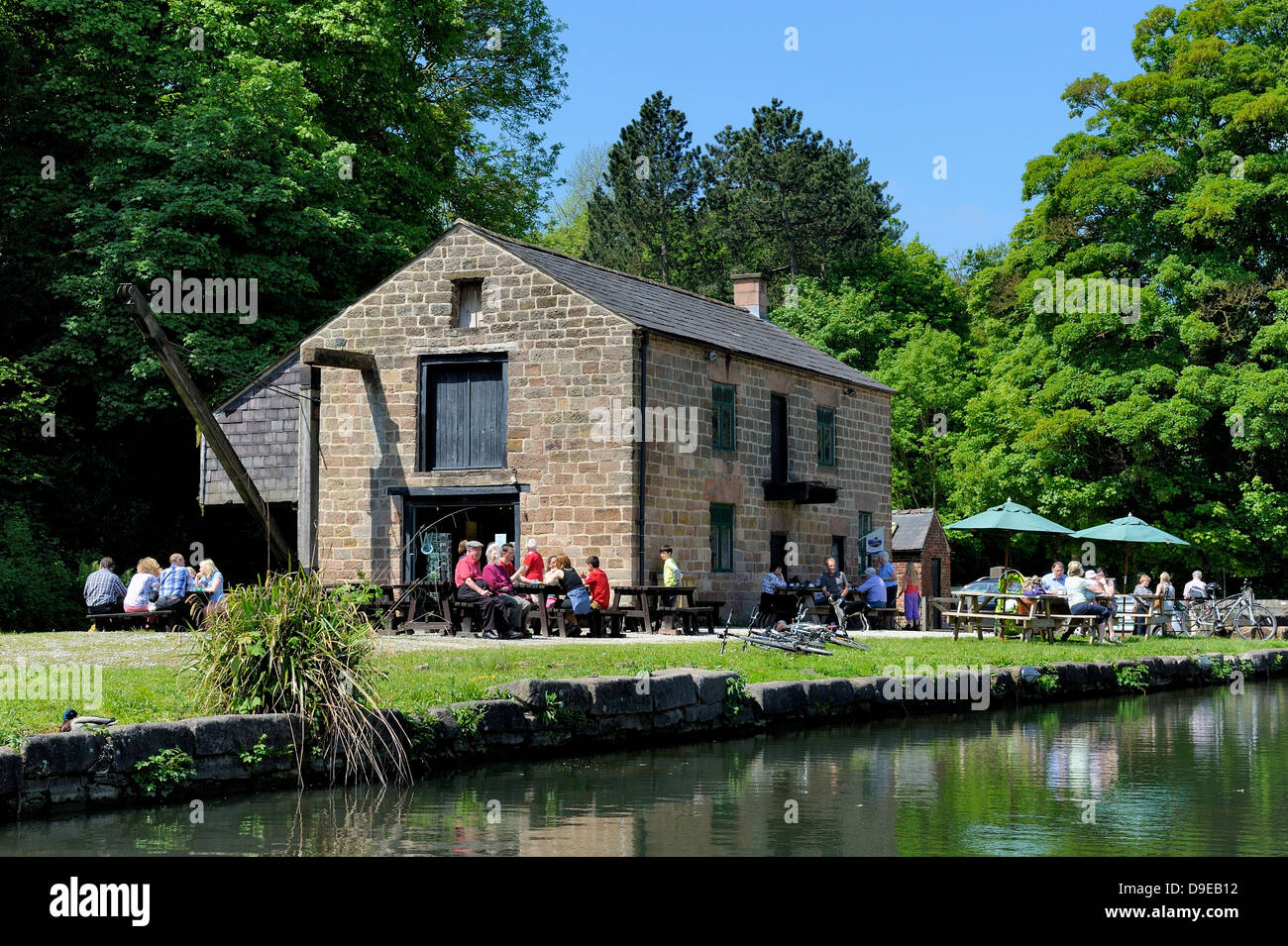 Cromford Canal Derbyshire England uk Stock Photo