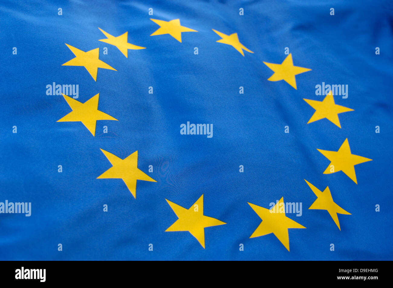 flag of EEC, europe, stars, EG, european community - Stock Image