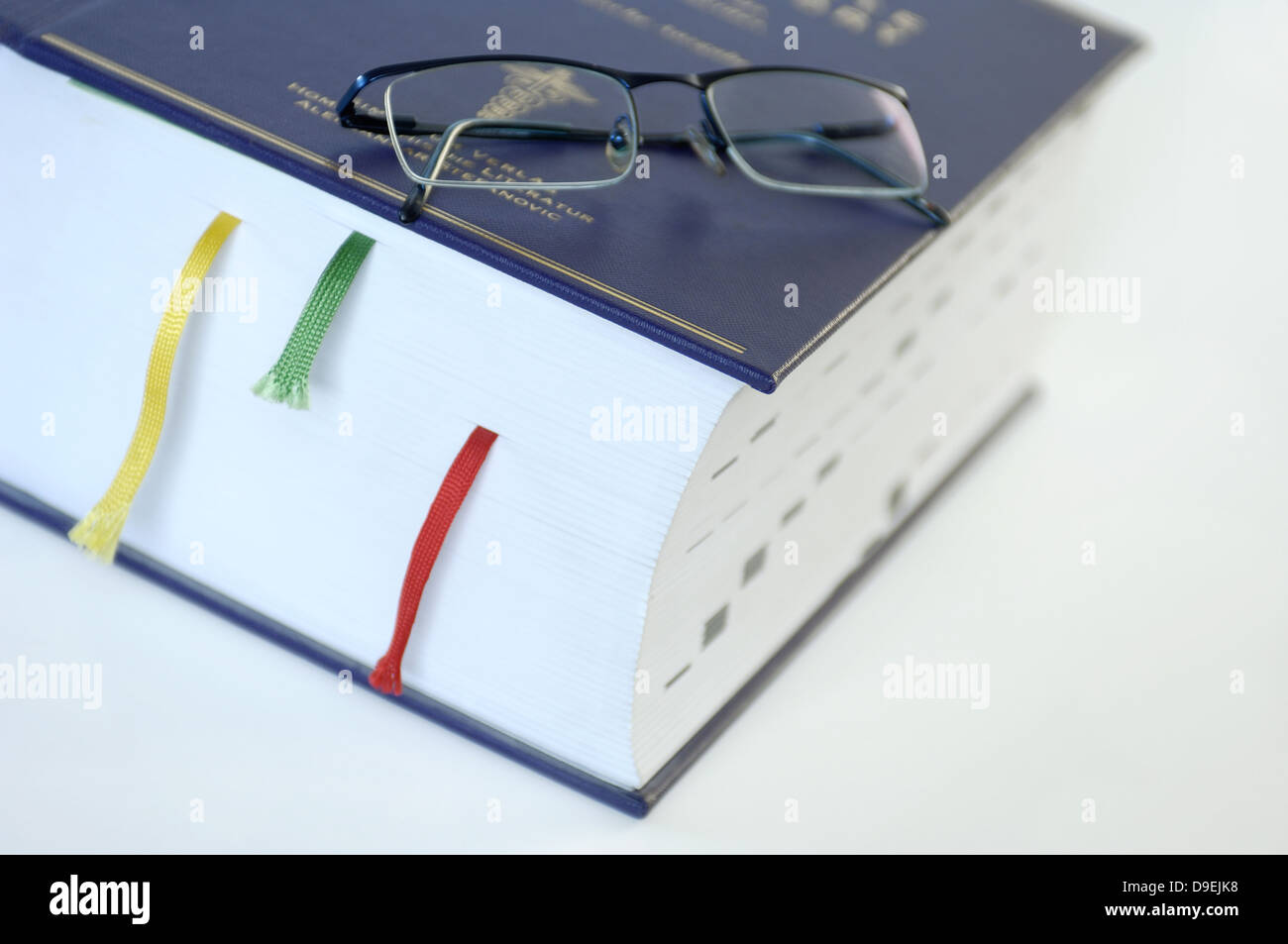 more than 3100 sides strong medical encyclopaedia. - Stock Image