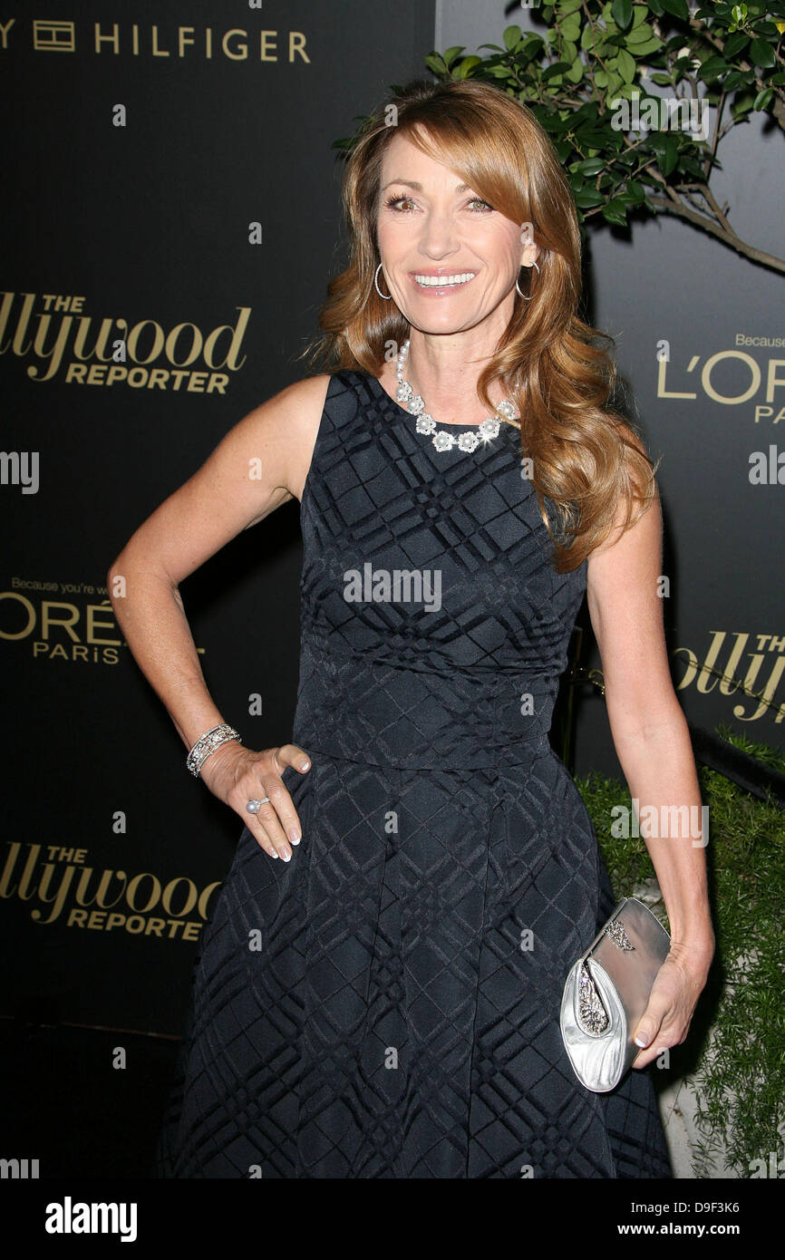 Jane Seymour The Hollywood Reporter's Nominees' Night Los Angeles, California - 24.02.11 - Stock Image