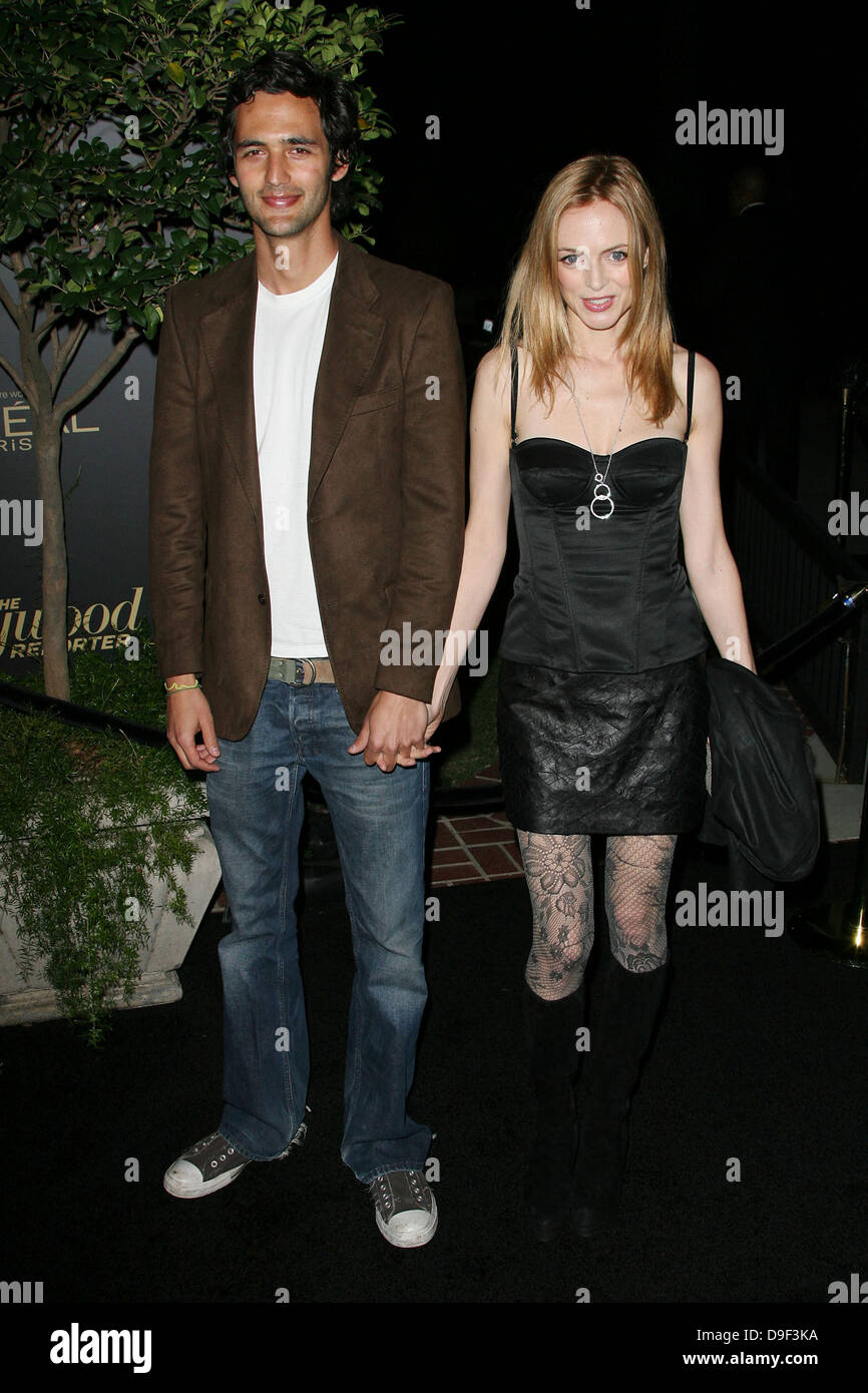 Heather Graham The Hollywood Reporter's Nominees' Night Los Angeles, California - 24.02.11 - Stock Image