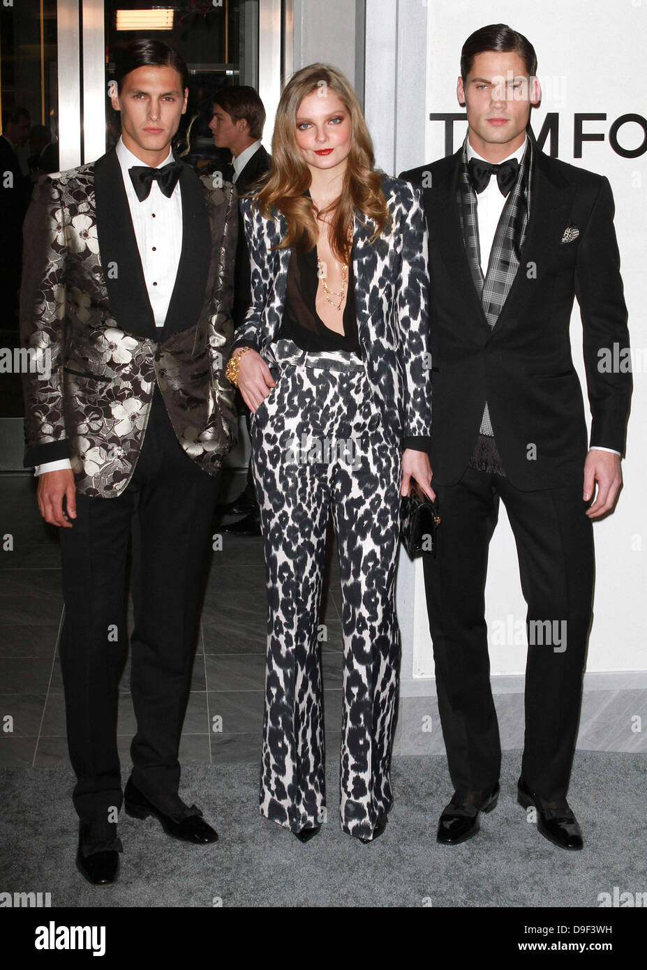 Tom ford models tom ford flagship store opening celebration beverly hills california 24 02 11