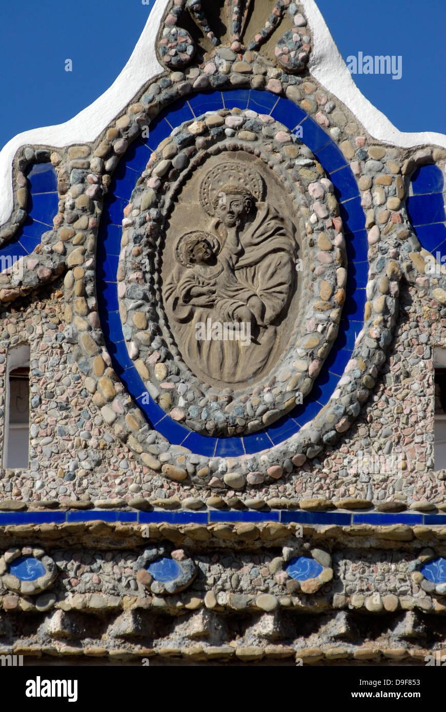Modernist, house, village,  Art,  Sant Julia Vic, Osona, Barcelona, Catalonia, Spain, Europe, - Stock Image