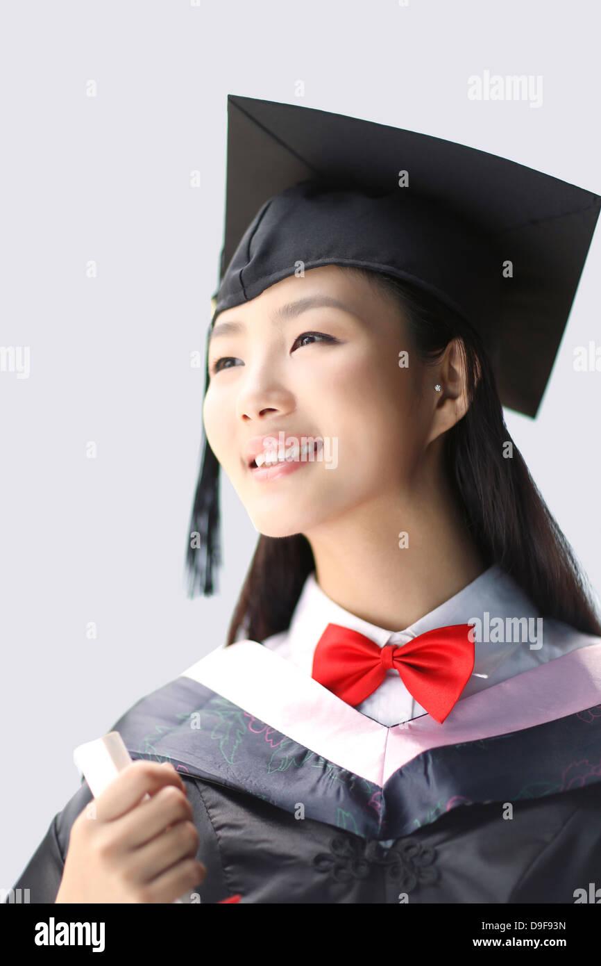 Graduation Celebration Females Only Stock Photos & Graduation ...
