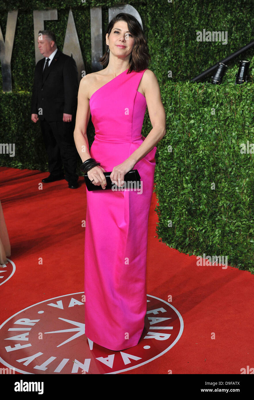 Marisa Tomei 2011 Vanity Fair Oscar Party at Sunset Tower Hotel - Arrivals West Hollywood, California - 27.02.11 - Stock Image