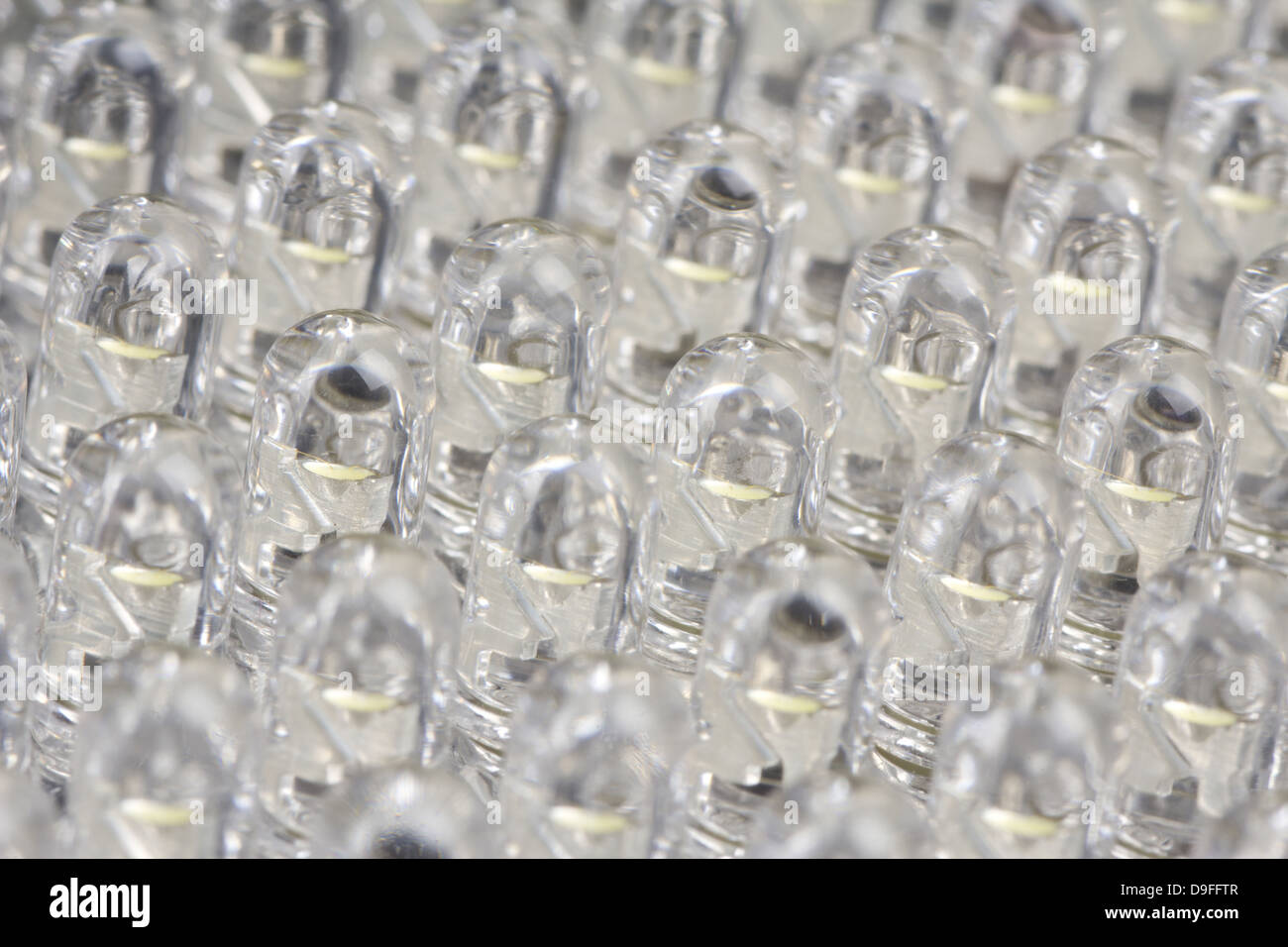 LED's von einer Videolampe |LED's from a video light| - Stock Image