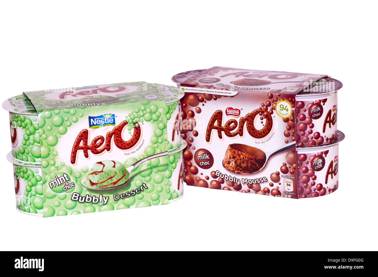 Nestle Aero Mousse - Stock Image