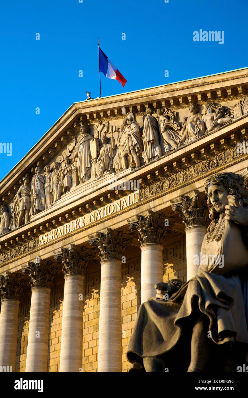 National Assembly, Paris, France - Stock Image