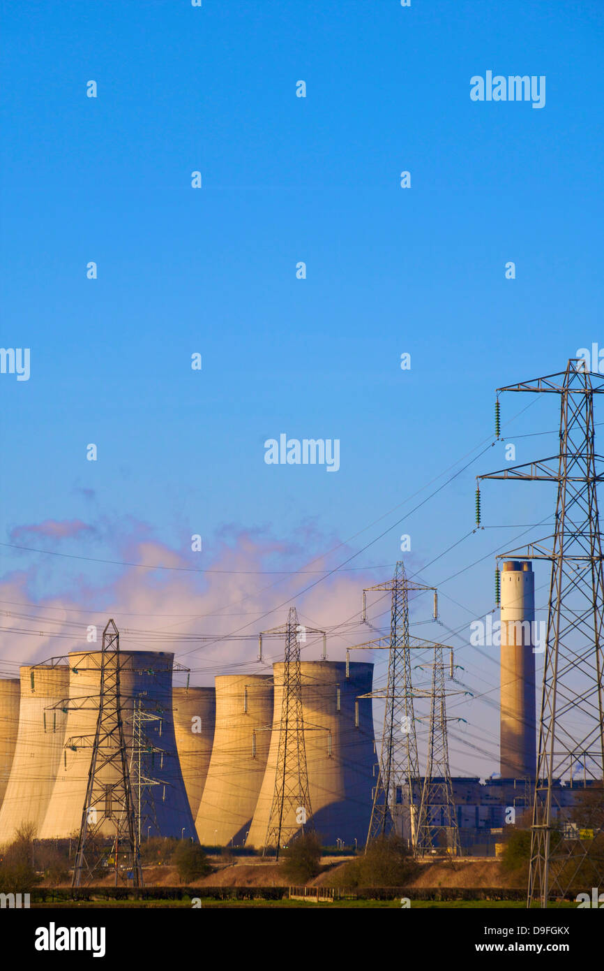Ratcliffe on Soar Power Station, Nottinghamshire, England, UK - Stock Image