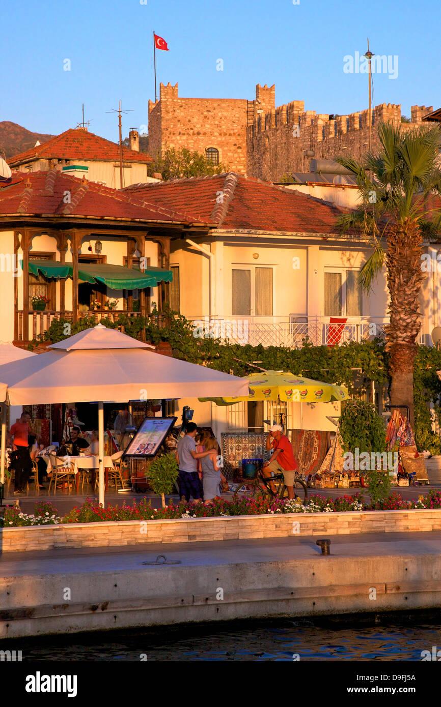 Marmaris Restaurants, Marmaris, Anatolia, Turkey Minor, Eurasia - Stock Image