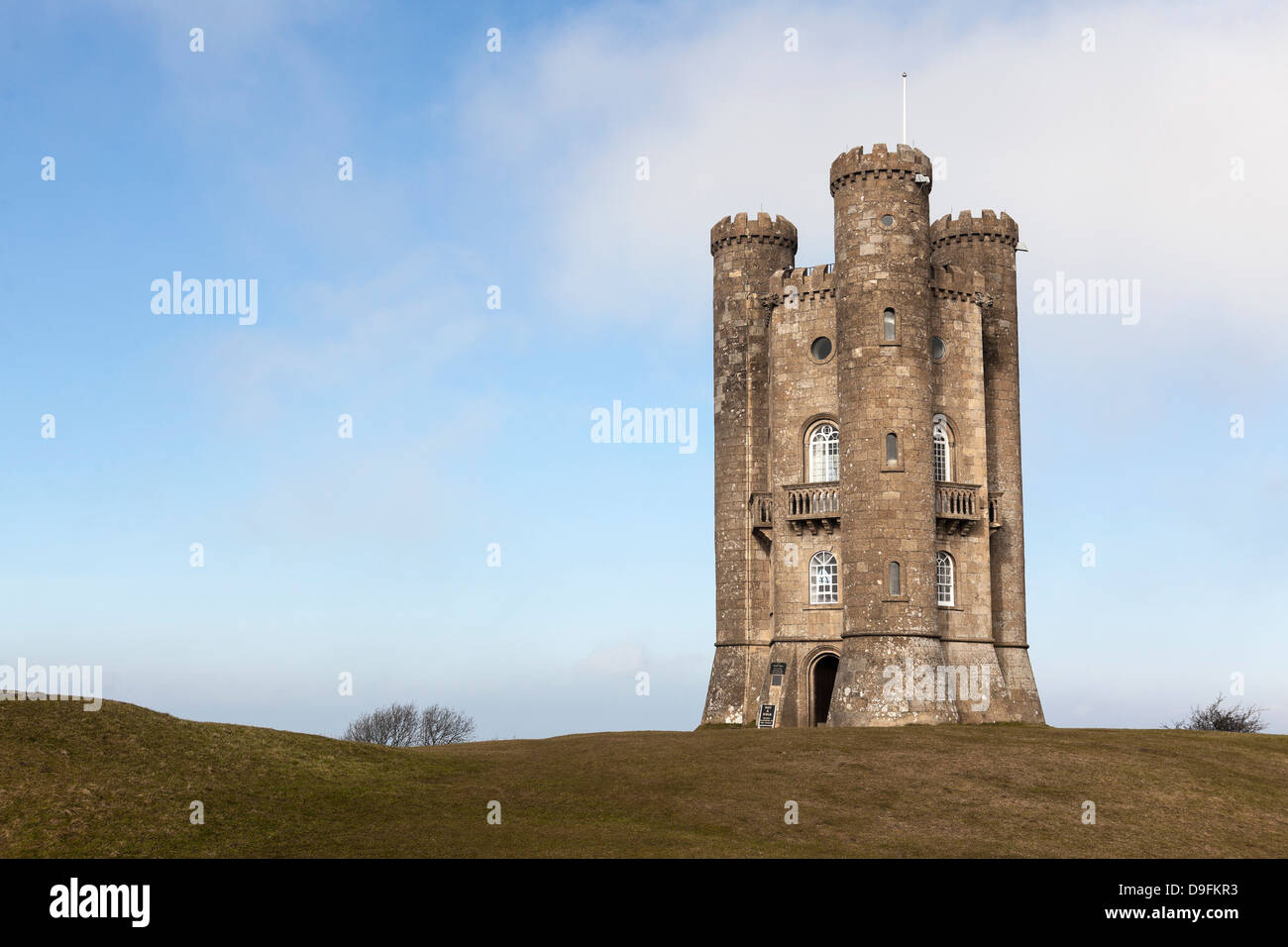 Broadway Tower, Broadway Tower and Country Park, Worcestershire, England, UK - Stock Image