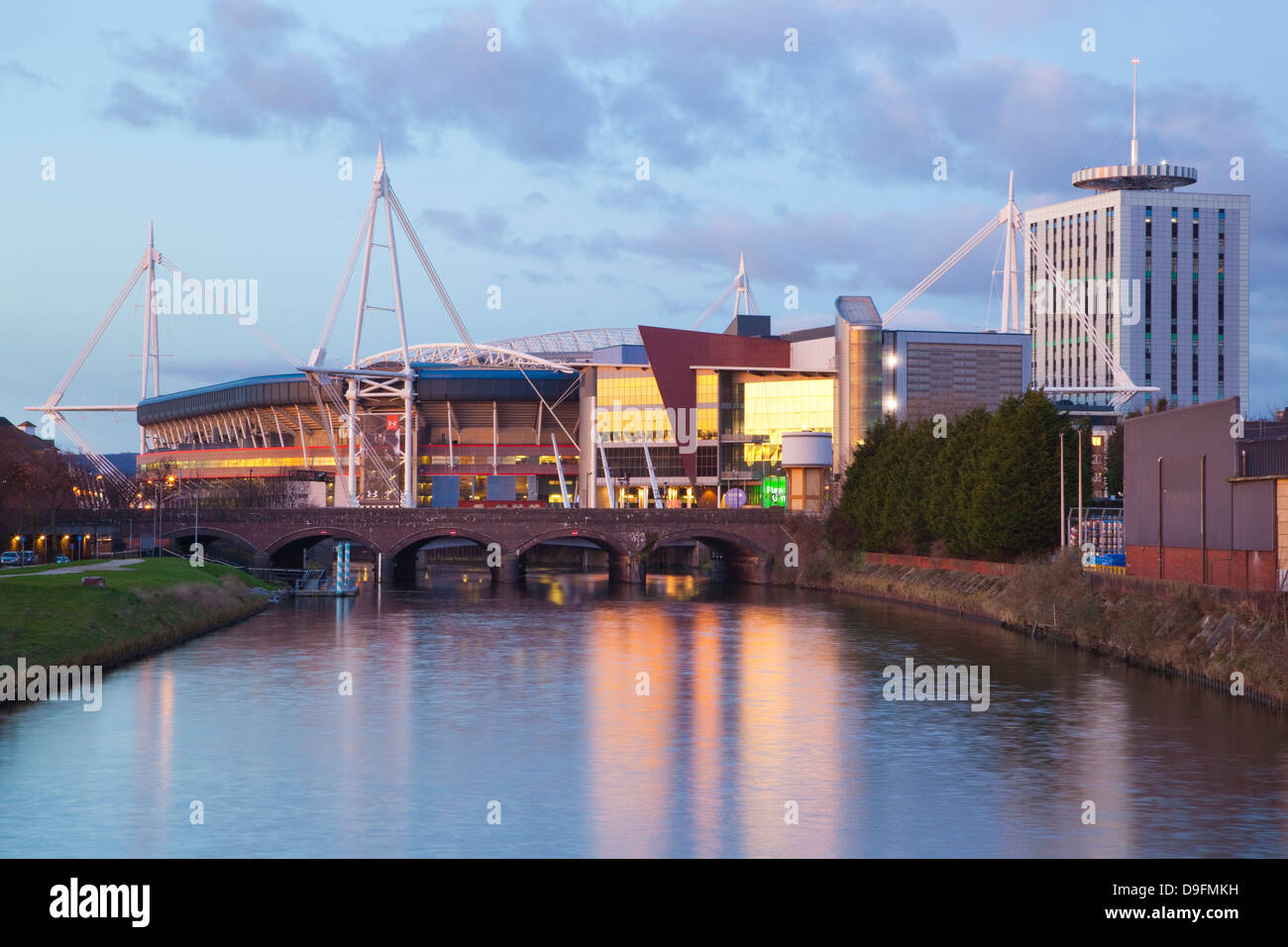 Millennium Stadium, Cardiff, Wales, UK - Stock Image