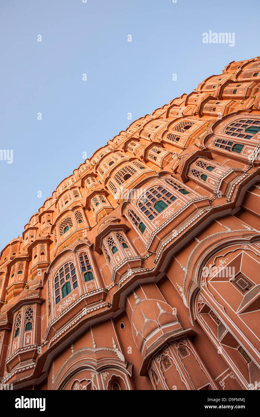 Palace of the Winds, Jaipur, Rajasthan, India - Stock Image