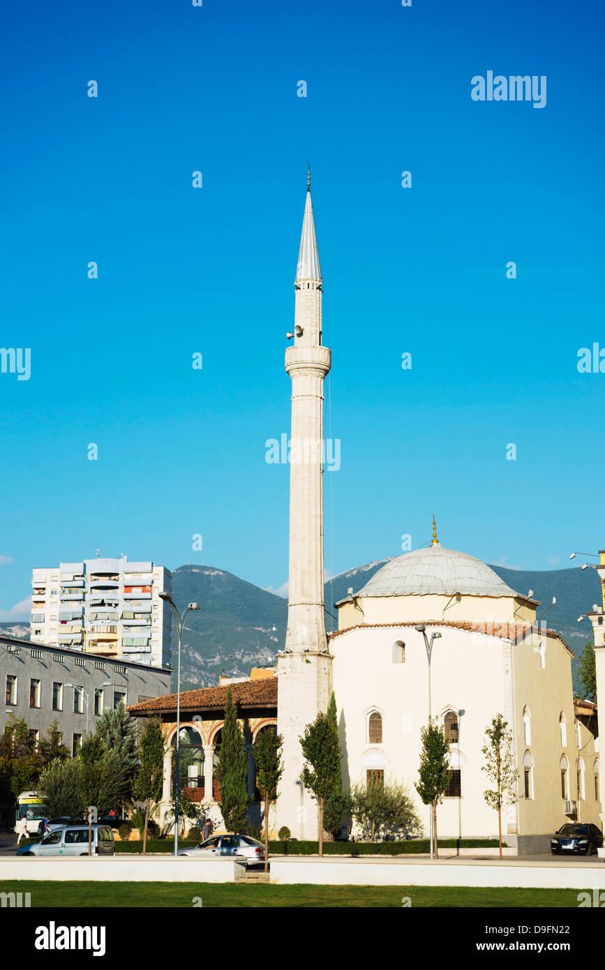 Mosque, Tirana, Albania - Stock Image