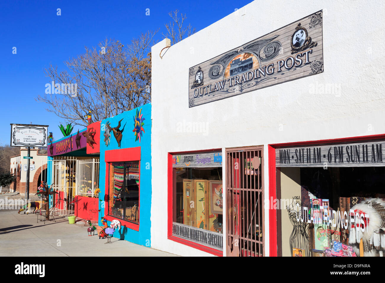 Craft store in Old Town Cottonwood, Arizona, USA - Stock Image