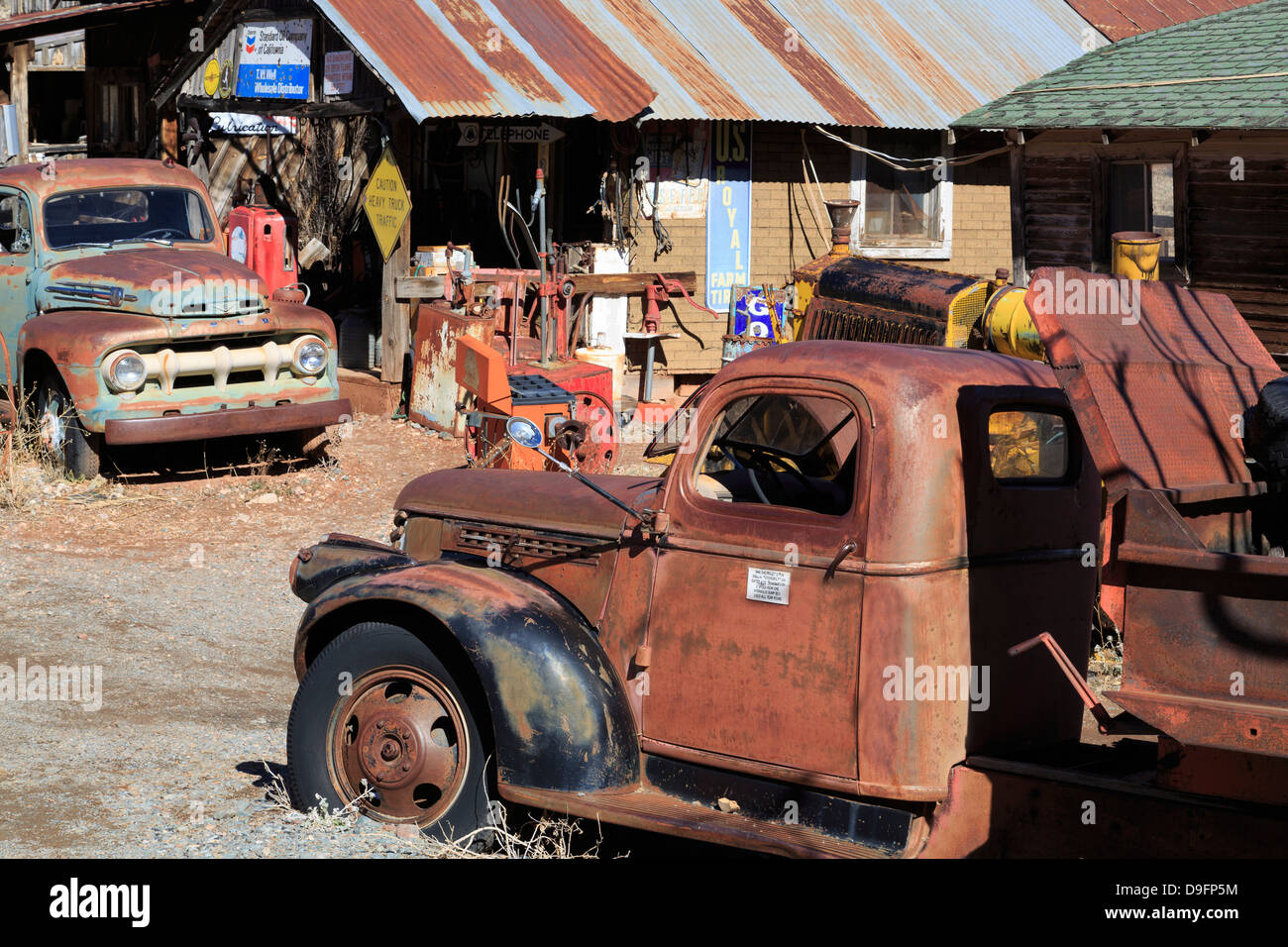 Gold King Mine and Ghost Town, Jerome, Arizona, USA - Stock Image