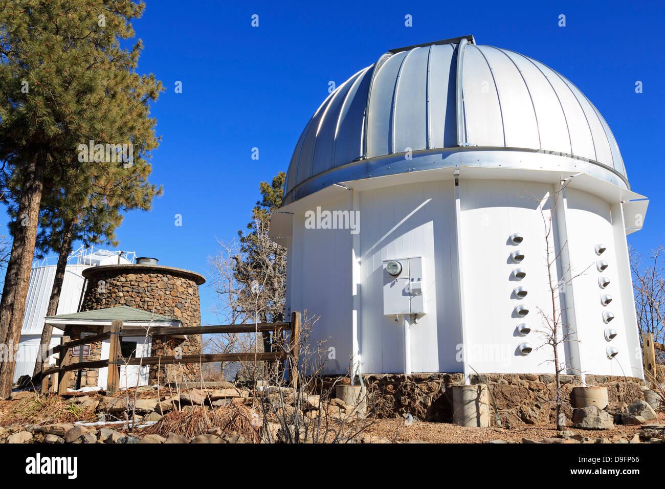Lowell Observatory, Flagstaff, Arizona, USA - Stock Image
