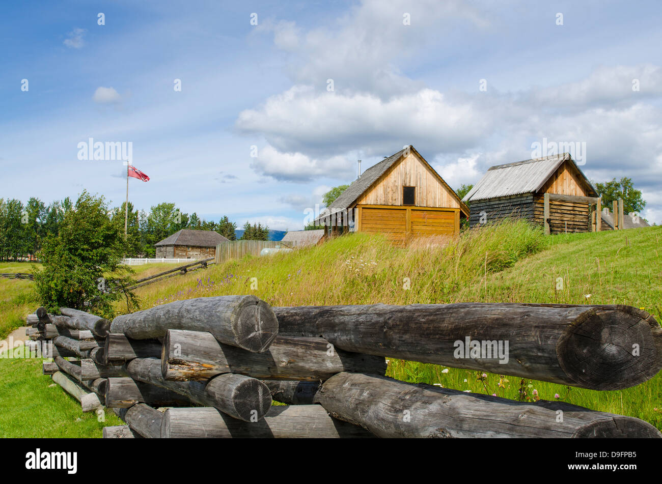 Fort Saint James National Historic Site, British Columbia, Canada - Stock Image