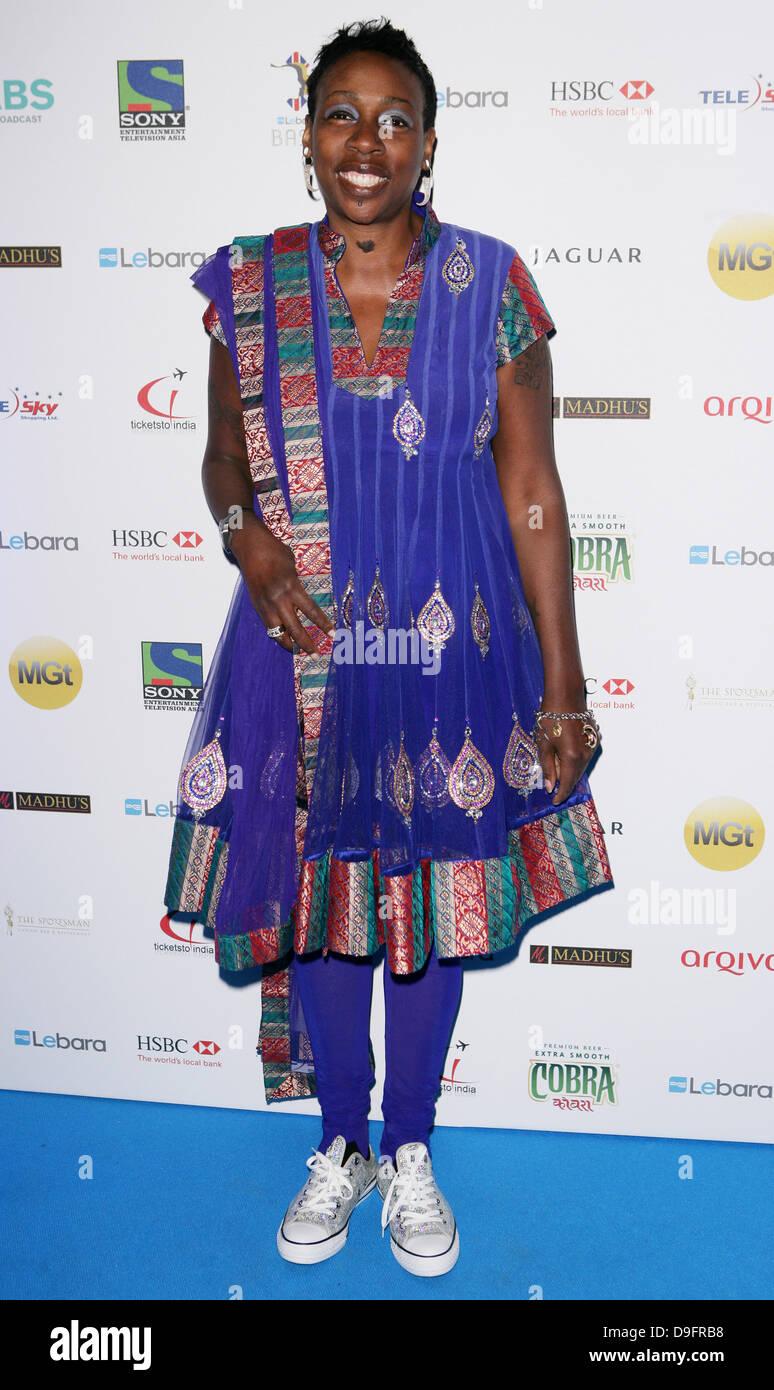 Gina Yashere The Lebara British Asian Sports Awards 2011 At The Grosvenor House Hotel London England