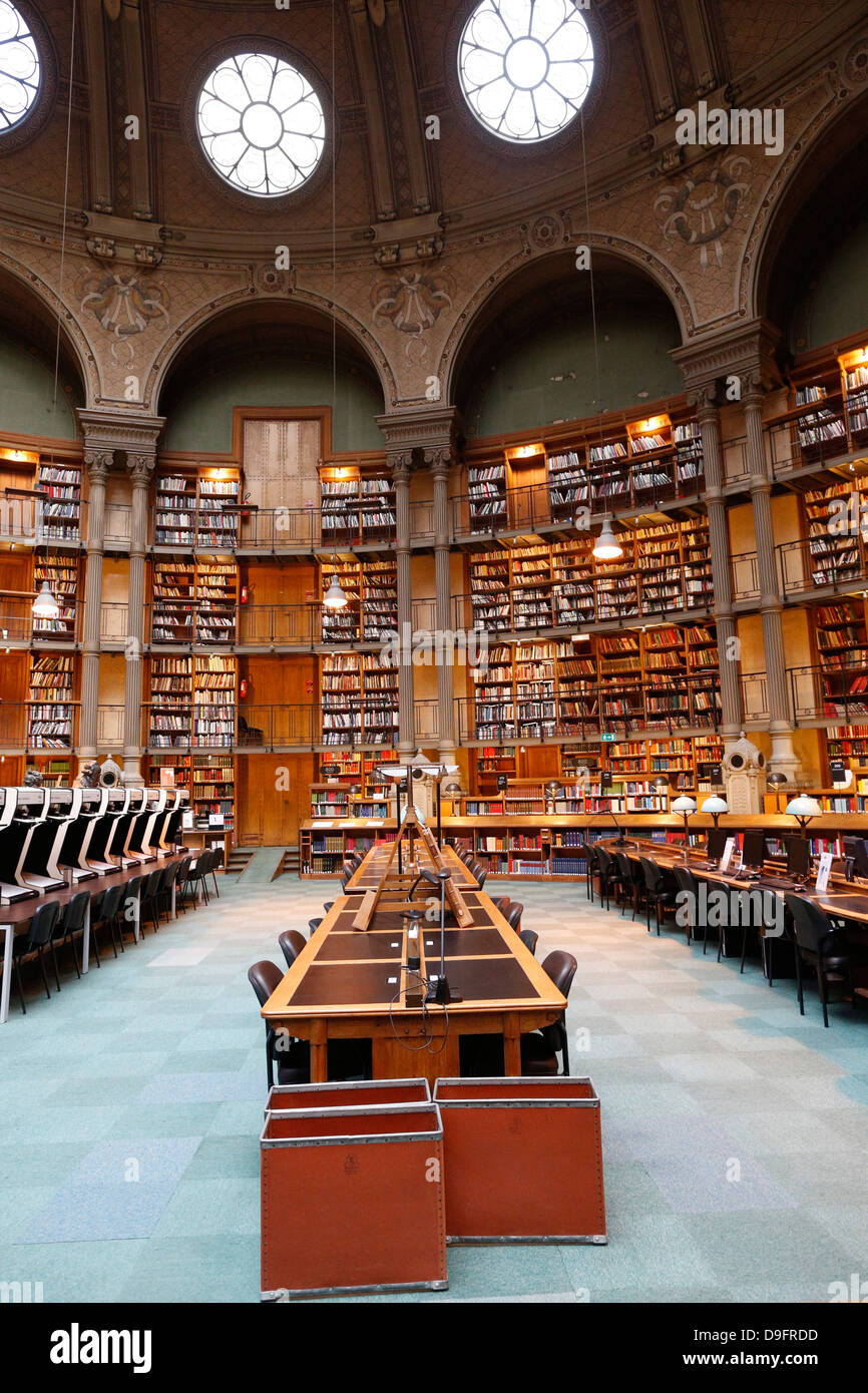 The National Library of France, Paris, France - Stock Image